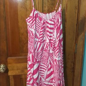 Pink Lilly Pulitzer Dress, Size L